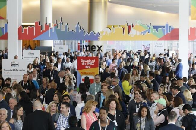 IMEX America 2019: Business power takes off – from the very first appointment