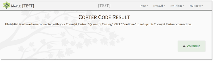 Copter Code Result