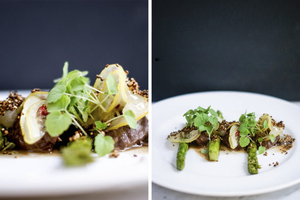 Eating with the chefs | Foto: Manon Nandika Zimmermann