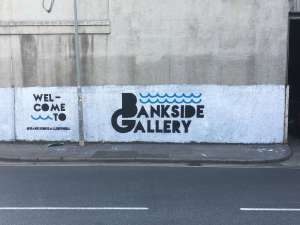 Bankside Gallery, Hull - Street Art Gallery in an inductrial site outside the city centre