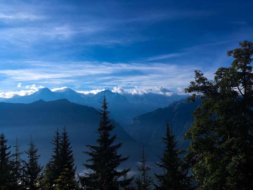 views at Harder Kulm, Switzerland