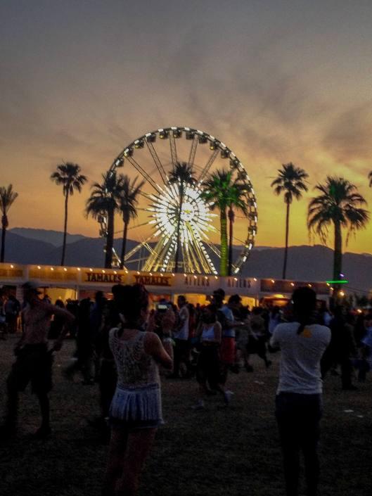 Ferris Wheel at Coachella - Music Festivals