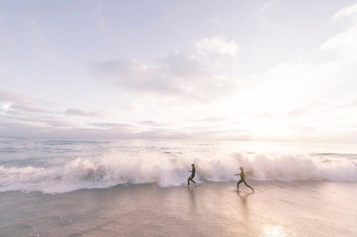 Running on the Beach - Credit Unsplash