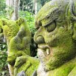 Carvings in Ubud