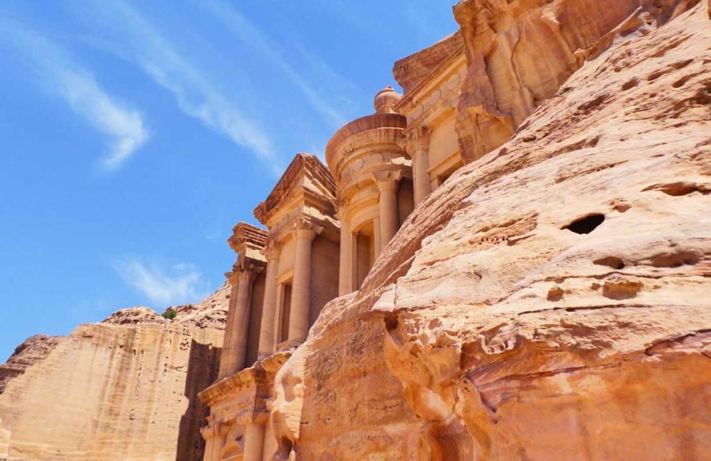 Monastary-at-Petra-side-view-Optimised