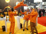 Orange Men Group Mr Holland IMEX America