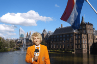 ... The Hague is the residence of our government. However, today those buildings were quite as our politicians were attending the ceremonies in Amsterdam. Then I ...