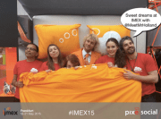 Always fun to see the social team of IMEX!