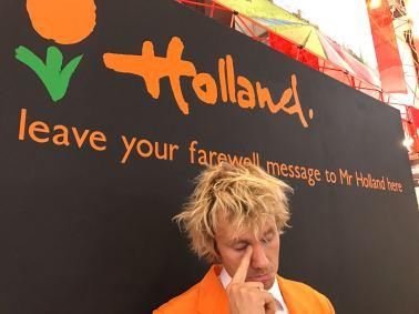 my farewell wall