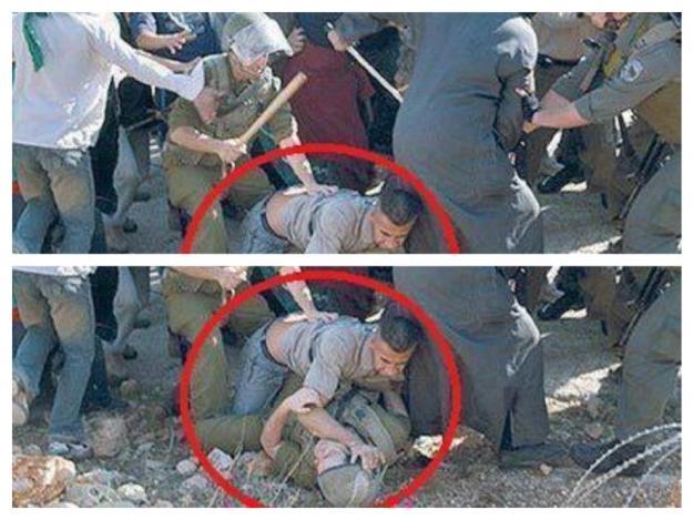 Photoshop 101: come si taglia una foto per manipolare l'opinione pubblica.