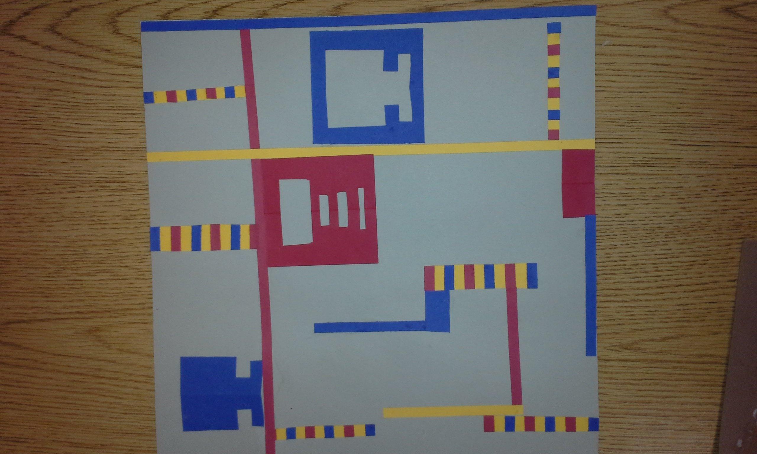 Meet The Masters Piet Mondrian Mondrian Type Balanced