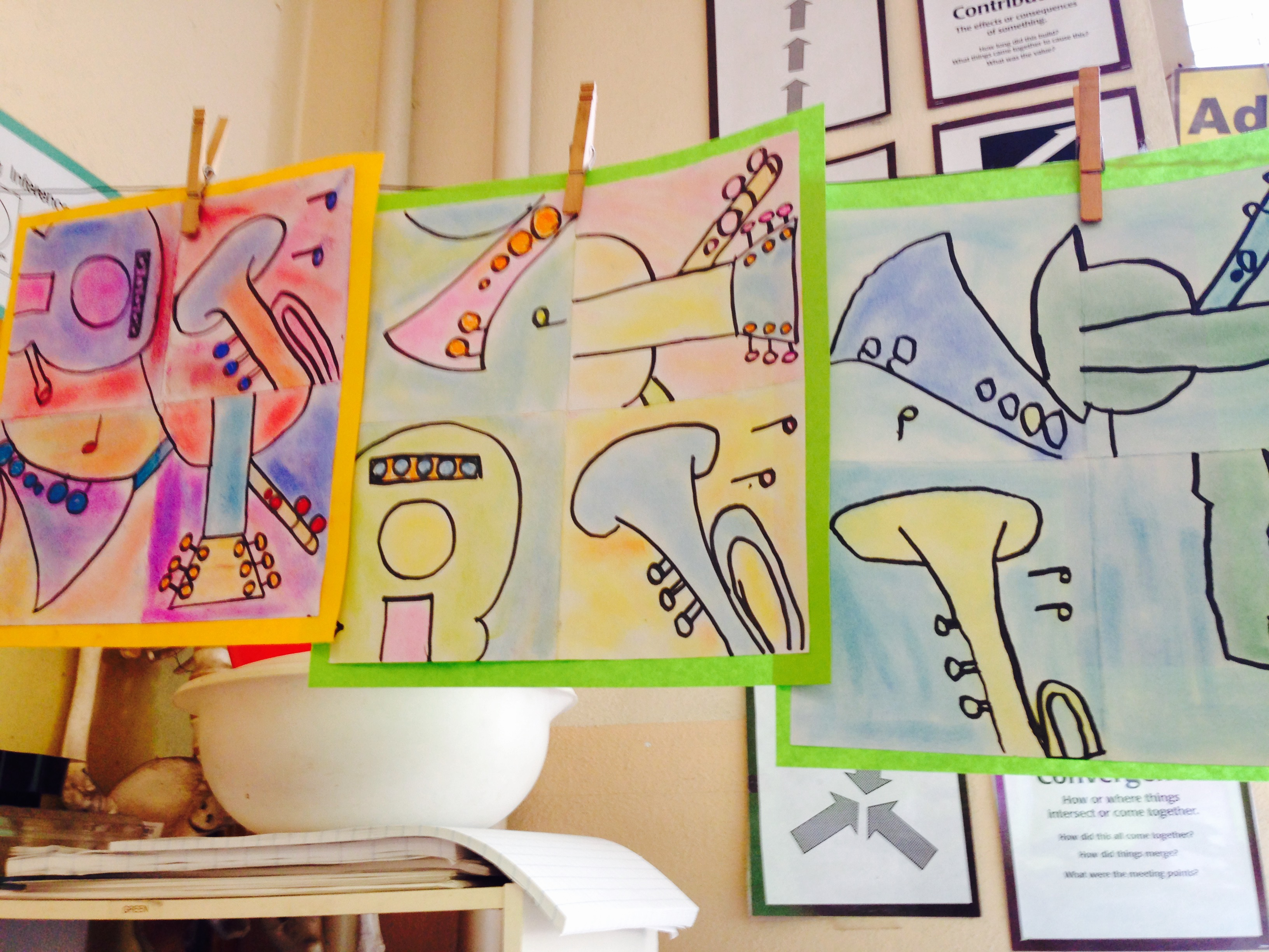 Meet The Masters Pablo Picasso Cubist Style Art Activity