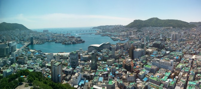 Busan from the Tower