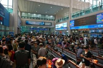 Pohang Ferry terminal for Ulleungdo