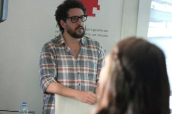 Giuliano Cedroni deu um panorama das séries televisivas no Brasil