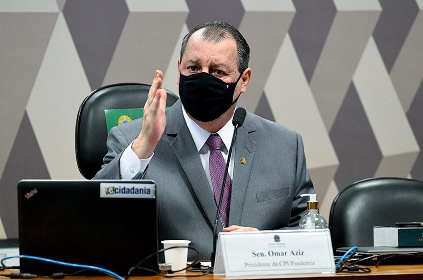 pandemia cpi omar aziz senado