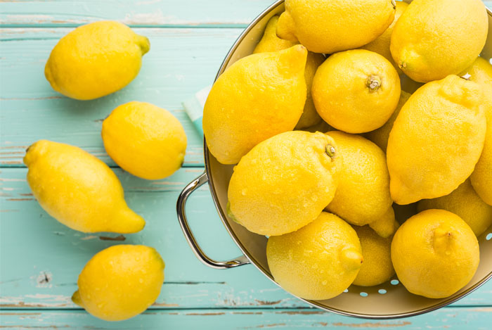 The humble lemon. These tangy fruits are great topically for acne and acne scars. You can also make a metabolism boosting concoction by squeezing a little lemon juice into your water every day. Very simple and very effective.