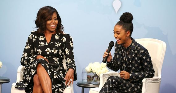 Yara Shahidi Received A College Recommendation from Michelle Obama!