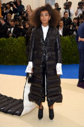 Solange Knowles in in Thom Browne