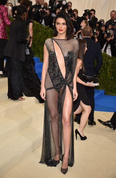 Kendall Jenner in Lacy Laperla