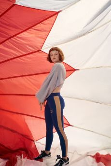 Kacy Hill Urban Outfitters Puma Collection 7 piece sportswear athleisure singer LA artist collaboration