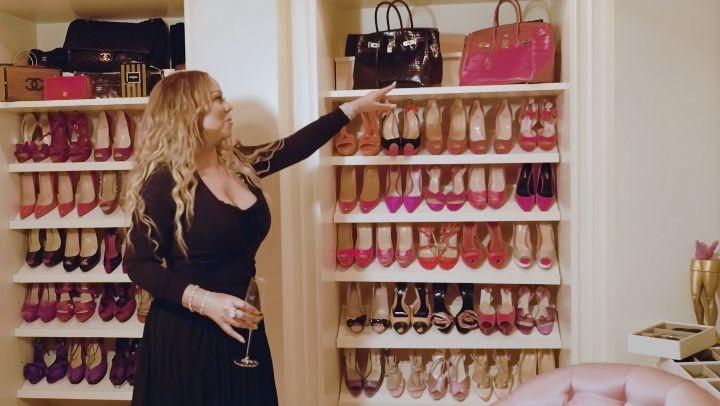 Mariah Carey The Diva Takes Vogue Inside Her Closet