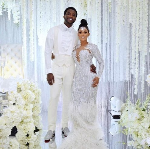 TheManeEvent. Wedding gown designed by Charbel Zoe - MEFeater's Looks of the Week