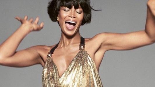 Naomi for Versace SS18
