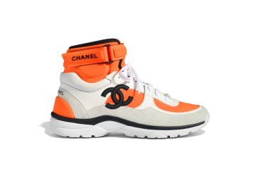 Sneaker Spotlight: Would You Cop the Chanel SS18 Orange Trainers?