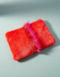 Anthropologie 'Ronda' Faux Fur pouch $88
