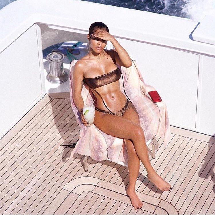 Teyana Taylor photographed by Robert Ector