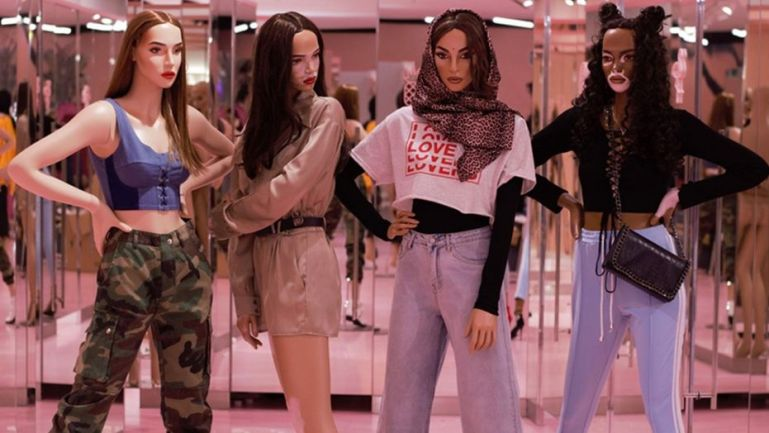 Missguided Unveils Diverse Mannequins with Stretch Marks and Vitiligo