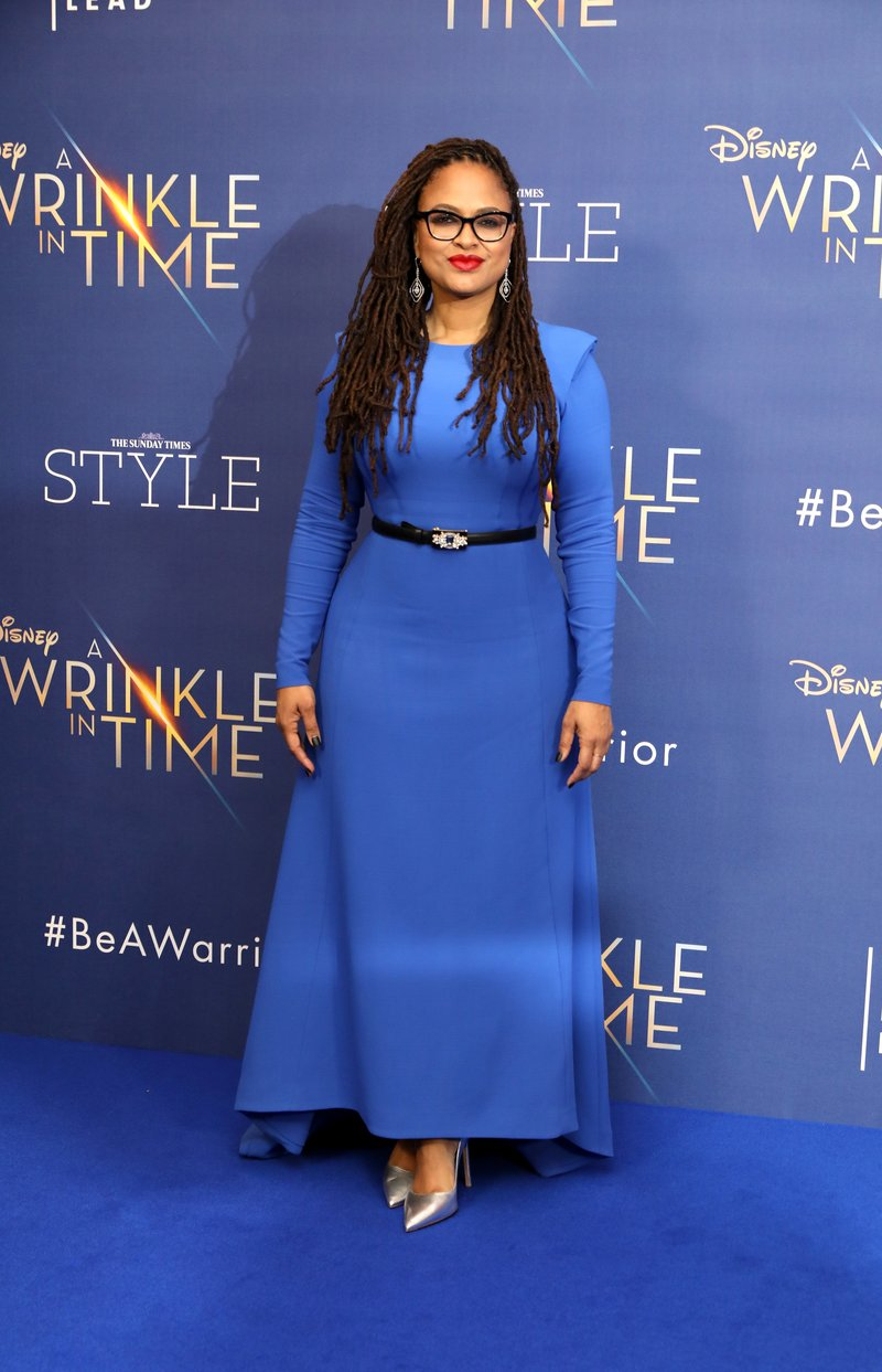 Ava Duvernay at the A Wrinkle in Time premiere.