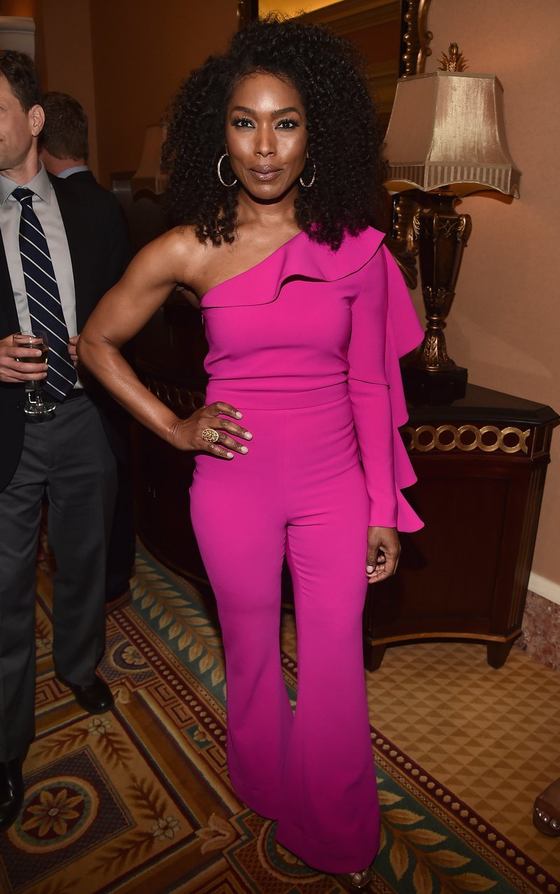 Angela Bassett at dinner during CInemaCon. Photo by Alberto E. Rodriguez/Getty Images