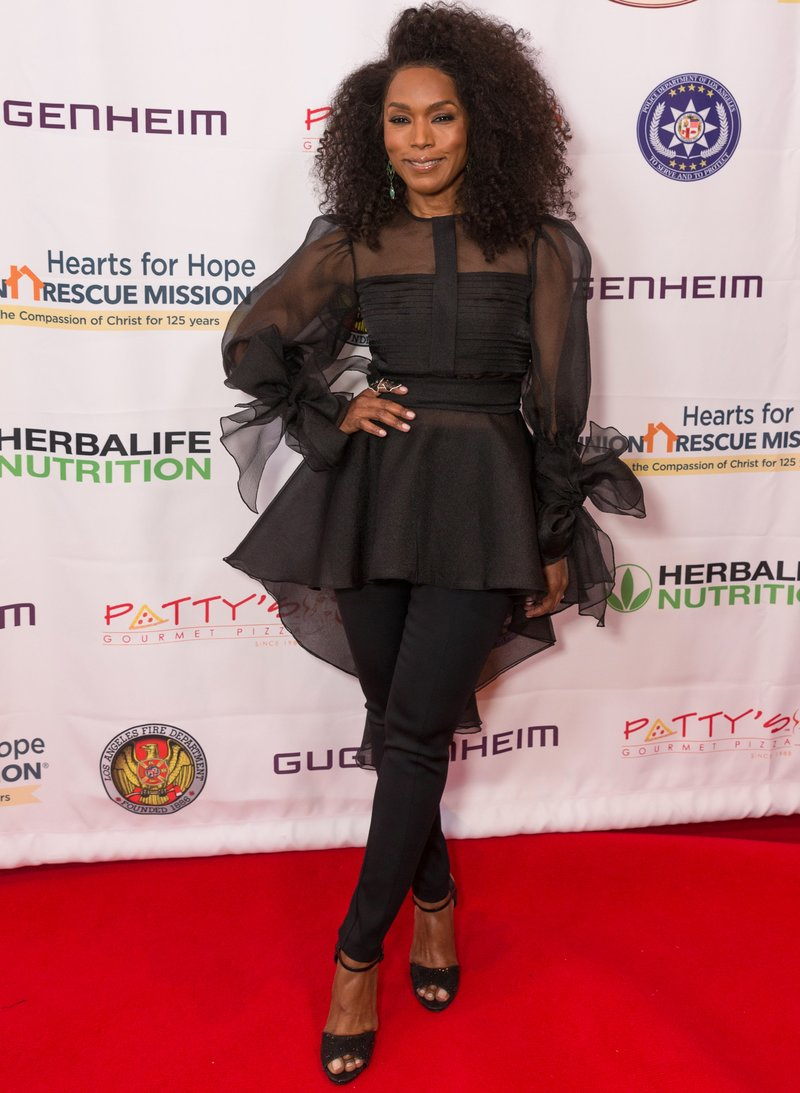 "Angela Bassett at the Hearts For Hope Gala ""Hope In Action"" in Beverly Hills, California. Photo by Rochelle Brodin"