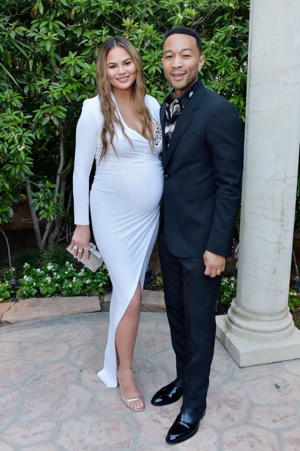 Chrissy Teigen and John Legend attended The Daily Front Row's 4th Annual Fashion Los Angeles Awards in Beverly Hills. Photo by Stefanie Keenan/Getty Images for The Daily Front Row