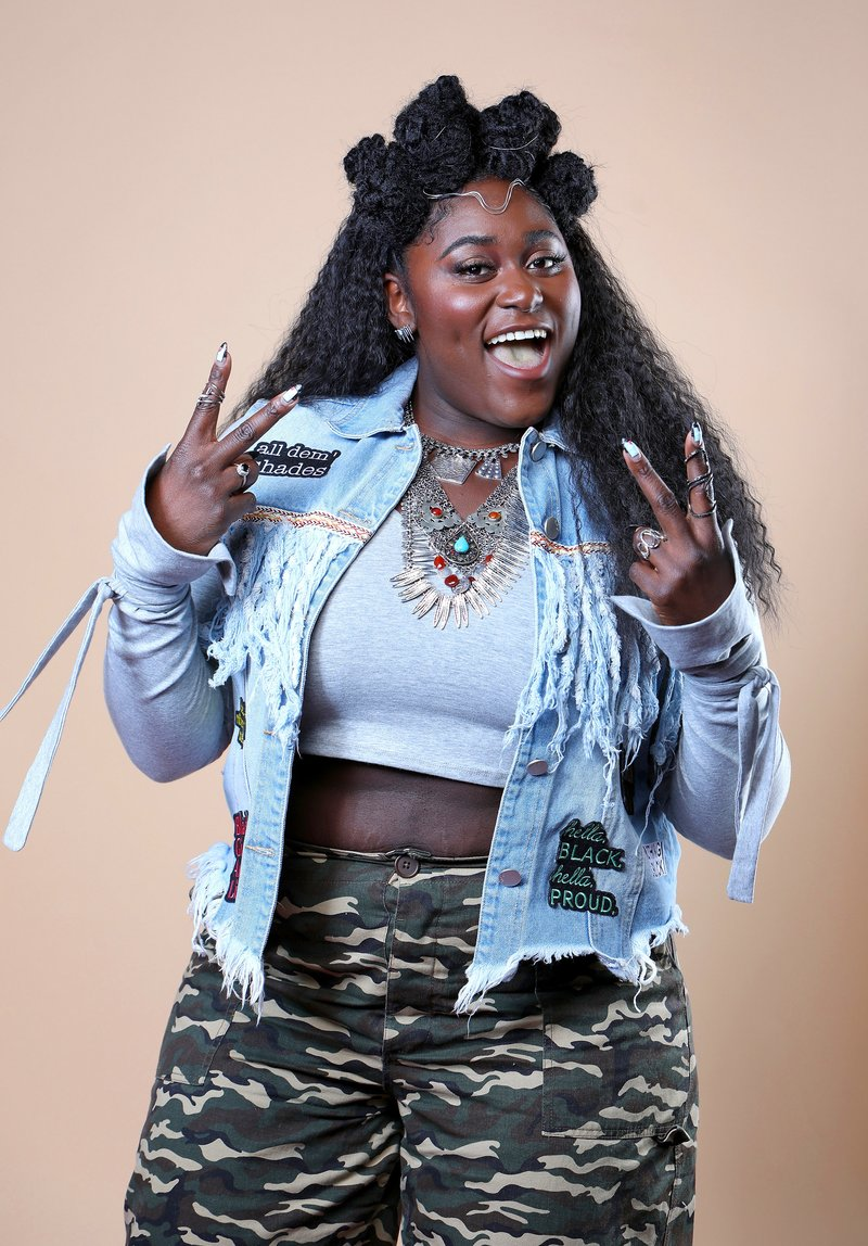 Danielle Brooks at the Beautycon Festival in NYC. Photo by Amy Sussman/Getty Images