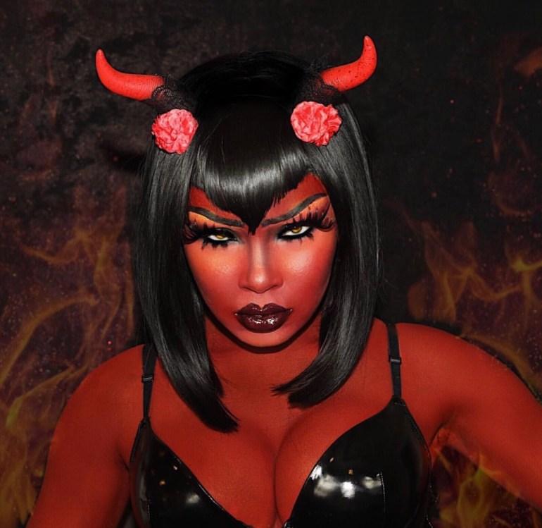 Aaliyah Jay Halloween Makeup