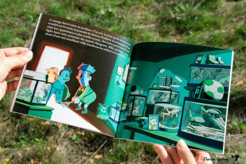 ilustration pleine page pour un livre jeunesse