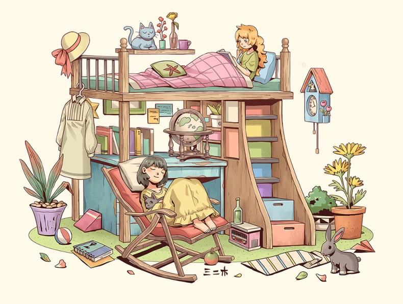 illustration mifuki32
