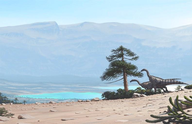 plateosaurus simon stalenhag dinosaure