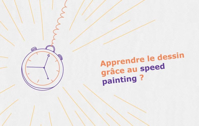 tic tac la rapidité au centre du speed painting