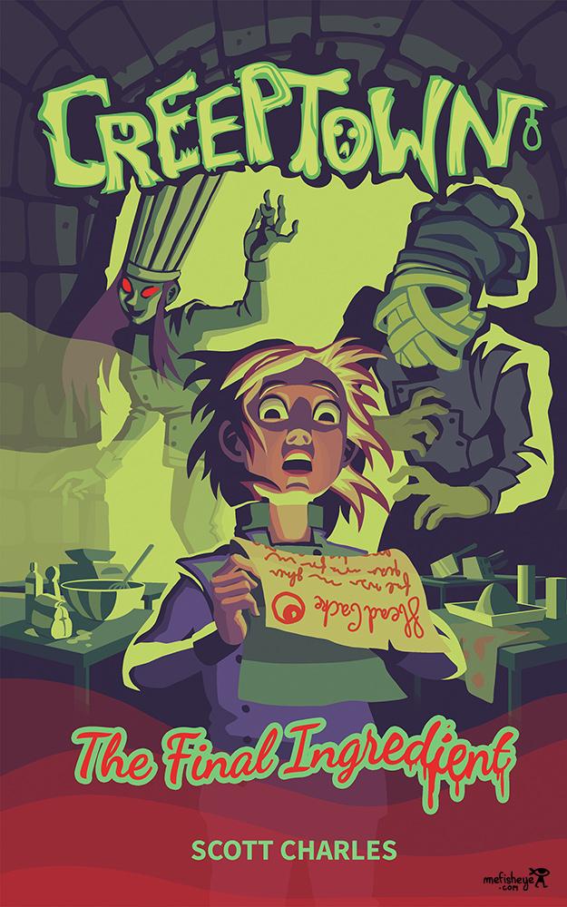 creeptown book cover couverture de livre