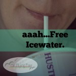 Free Ice Water & A Little Faith