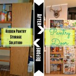Hidden Pantry Storage Solution