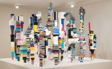 Installation view of Douglas Coupland: everywhere is anywhere is anything is everything, exhibit at the Vancouver Art Gallery, May 31 to September 1, 2014. Image courtesy of the Daniel Faria Gallery