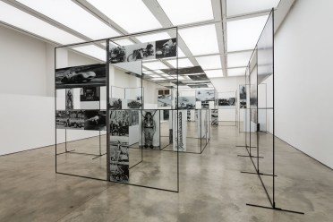 Install shot of Man, Machine and Motion, Richard Hamilton at the ICA, 12 Feb 2014 – 6 Apr 2014. Photograph by Mark Blower