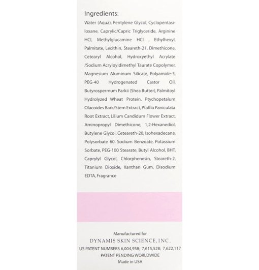 Eye Treatment Ingredients List