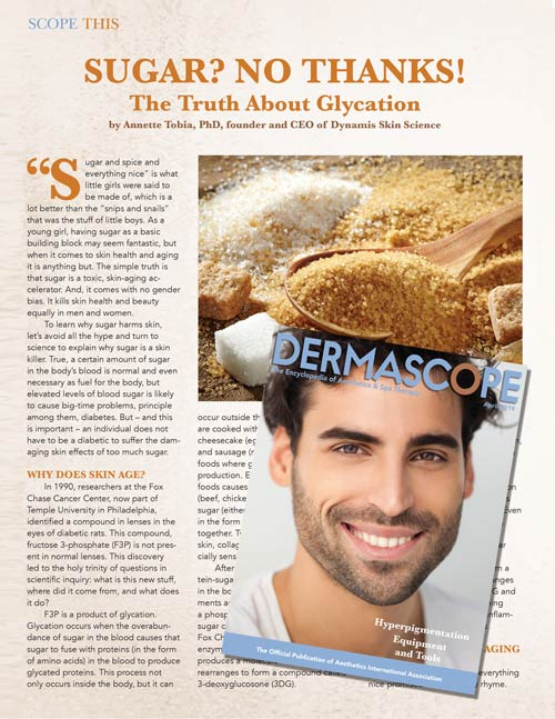 Sugar? No Thanks! The Truth About Glycation