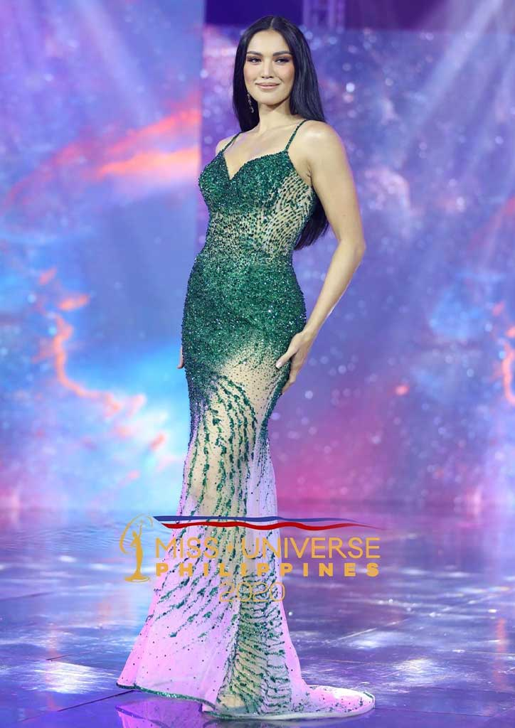 Gowns at the Miss Universe Philippines Michelle Gumabao